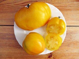 Томат Желтые гребешки